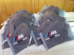 """Picture of COVID - BMW """"M"""" Branded Face Mask"""